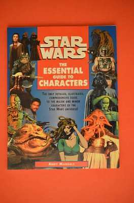 Star Wars The Essential Guide to Characters SC (1995 1st Edition) Del Rey Books
