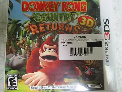 Donkey Kong Country: Returns 3D  (Nintendo 3DS, 2013)