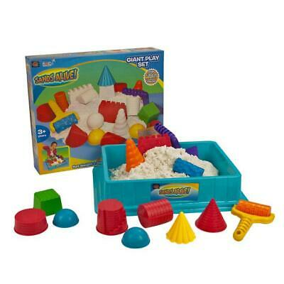 Sands Alive! Giant Playset - 1.36kg of Non-Toxic Sands Alive & Shape Tools
