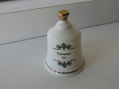 Tennessee State Flower Porcelain Bell The Danbury Mint Bell Collection