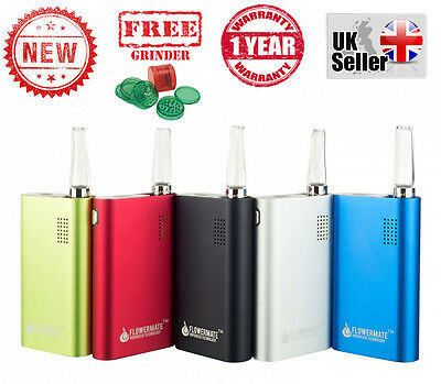 Vapormax Flowermate V5.0s w/Temp Control-Portable Vaporizer -Now In All Colours!