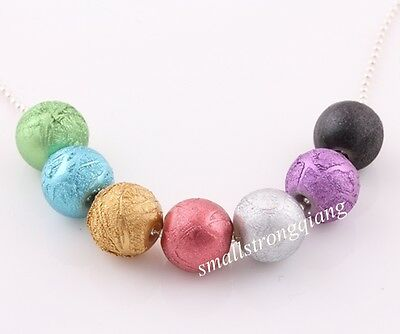 40 pcs mixed color acrylic spacer findings Loose beads charms 12mm Free shipping