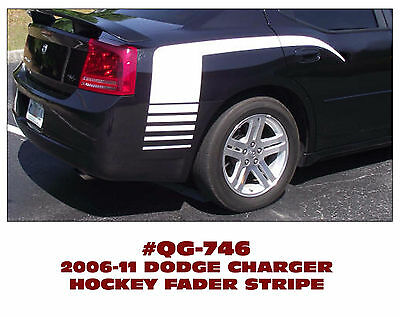 QG-767 2011-14 DODGE CHARGER INNER CONTOUR DECAL KIT SIDE C-STRIPE