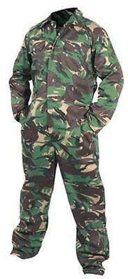 Camo Army DPM Coveralls Overalls Boiler Suit Workwear Boilersuit Military