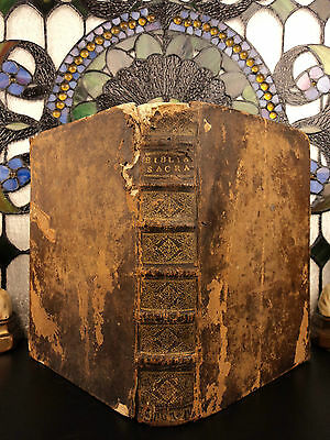 1507 Post Incunable COMPLETE BIBLE Philippe Pigouchet Incunabula Jehan Petit
