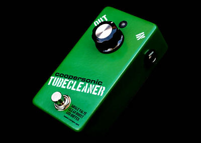 Coopersonic Tubecleaner Buffer Booster Pedal Made In Uk