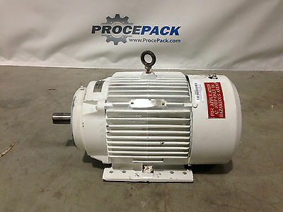 Reliance Electric AC motor with gearbox