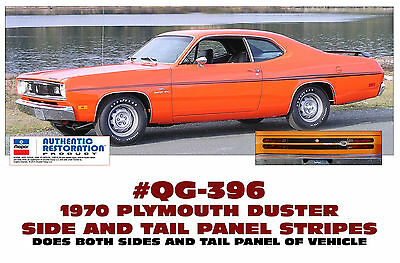 440 QUARTER PANEL DECAL SET GE-QG-423 1971-74 PLYMOUTH DUSTER
