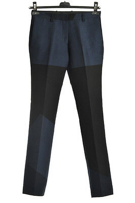 NEIL BARRETT New Woman Two Tone Pants Trousers Style TUBE Size 40 ITA Made Italy