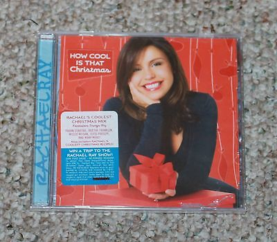 RACHAEL RAY - HOW COOL IS THAT CHRISTMAS --- 2006 RELEASE / SEALED / UNOPENED CD