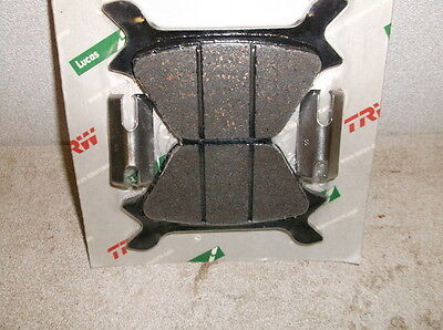 Lucas Rear Brake Pads for Hayes Calipers on 1987-1999 Big Twins & Sportsters