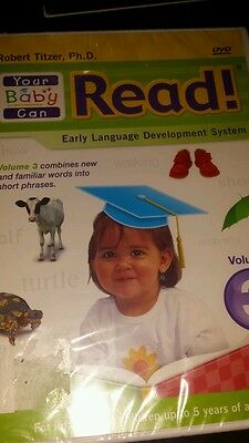Your Baby Can Read!  Volume 3 - Early Language System ~ Robert Titzer, Ph.D. New