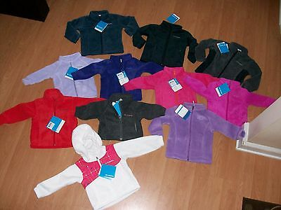 Columbia Infant/Toddler Boys/Girls Fleece Jacket, All Styles&Colors MSRP $25-$45