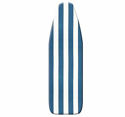 Ogilvies large Beach Stripe Blue padded ironing board cover