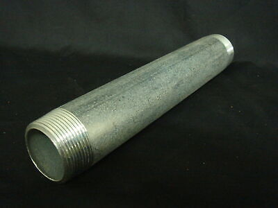"3"" (76mm) x 1000mm Galvanised Threaded Pipe-BSPP"