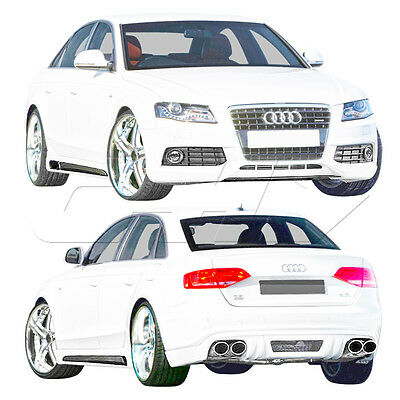 Extreme Dimensions 4dr R-1 Body Kit 4 Pc For A4 Audi 09-12