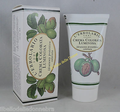 ERBOLARIO Crema Viso colorata Luminosa 50ml idratante protettiva Face Cream