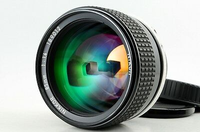 Nikon Ai-s Nikkor 85mm f/1.4 Fixed/Prime  Manual ***EXCELLENT*** FROM JAPAN