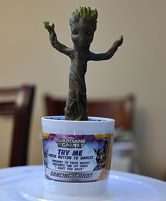 New Dancing Baby Groot - Rare - Guardians of the Galaxy, KIDdesigns 9in. 2014