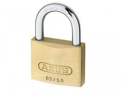 Abus 65/50 Brass Padlock Keyed Alike 6504