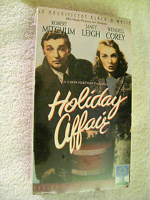 HOLIDAY AFFAIR (1993) VHS (BRAND NEW) ROBERT MITCHUM-JANET LEIGH