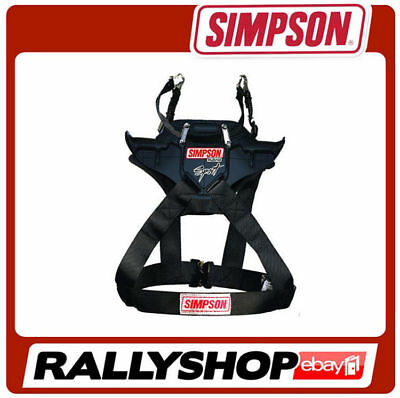 Simpson Hybrid SPORT FIA Neck and Head Restraint size L Hans carbon/polymer