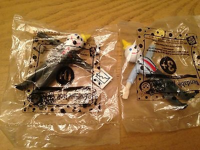 Jack in The Box Two Kid's Meal Bendable Jack Toys New
