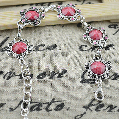 New Classical Natural hot RESIN cute tibet silver Bracelet H-241