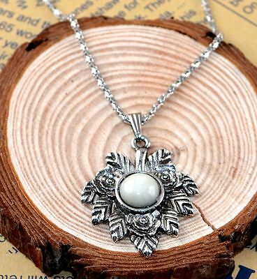 New Classical Natural hot resin cute tibet silver Necklace+Pendant H-1306