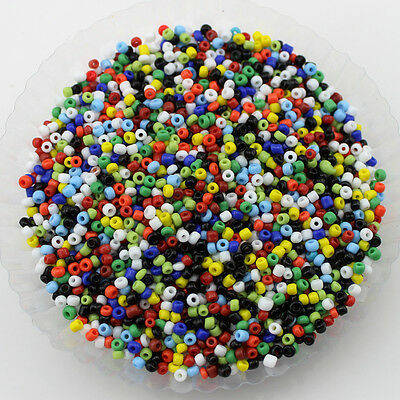Free shipping DIY 300pcs 2mm Lot Czech glass seed beads About 5g PZ56