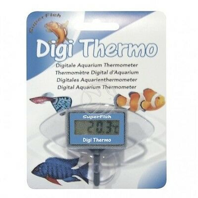 NEW Superfish Digital Submersible Thermometer Tropical Fish Tank Marine Discus