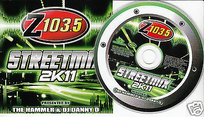 STREETMIX 2K11 Z103.5 (CD 2010) Dance DJ Compilation Street Mix FREE SHIPPING