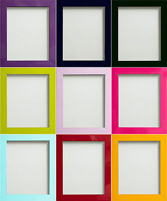 Candy Range Colourful Large Picture Photo Frames *Choice of Sizes*