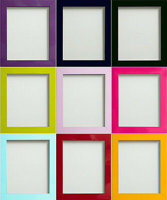 Frame Company Candy Range Colourful Large Picture Photo Frames *Choice of Sizes*