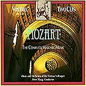 MOZART / EQUILUZ / MAAG-Mozart: The Complete Masonic M CD NEW