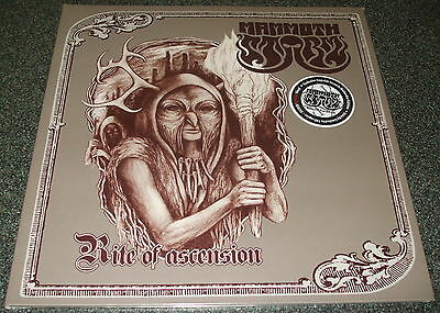 MAMMOTH STORM-RITE OF ASCENSION-2014 LP SILVER/BROWN VINYL-100 ONLY-NEW & SEALED