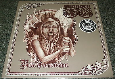 MAMMOTH STORM-RITE OF ASCENSION-2014 LP GOLDEN VINYL-100 ONLY-NEW & SEALED