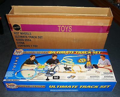 2003 Hot Wheels RLC Highway 35 World Race Motorized Ultimate Track NIB