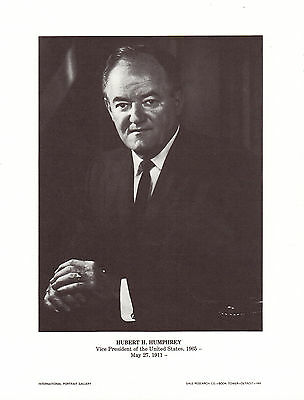 Hubert H. Humphrey Vice President of the United States of America  IPG Portrait