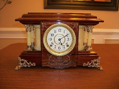 "Seth Thomas Adamantine Mantle Clock. ""SUCILE"" Model----- NO RESERVE!!!"