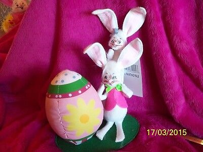 """Annalee Easter Bunny Doll """"Painting Pals"""" 2013 collection"""