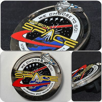Disney WDW - Mission Space: International Space Training Center (Slider/3D) Pin