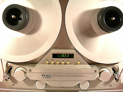 """TEAC X-2000 REEL TO REEL (10.5"""" & 7"""")  TAPE DECK RECORDER  - EXCELLENT CONDITION"""