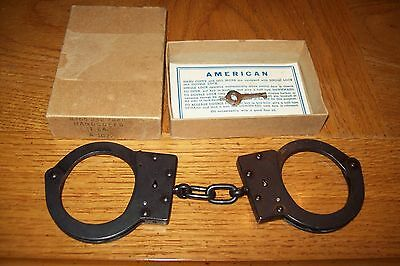 Vintage Handcuffs-American Handcuff Co. with box  NOS?
