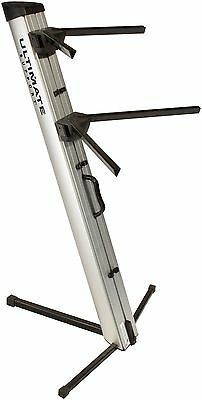 Ultimate Support APEX AX-48 PRO Silver Column Keyboard Stand AX48