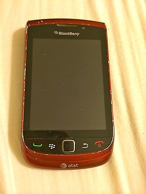 BlackBerry Torch 9800 Red (AT&T) Used