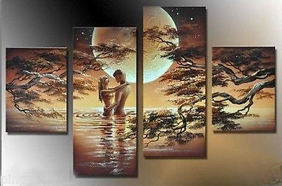 HUGE CANVAS ART MODERN ABSTRACT WALL DECOR OIL PAINTING(no framed)070