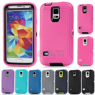 Military Dual Layer Combo Heavy Duty Rugged Case Cover For Samsung Galaxy Seires