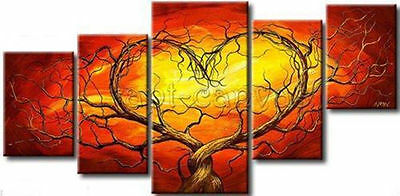 HUGE MODERN ABSTRACT WALL DECOR ART CANVAS OIL PAINTING(no framed)061