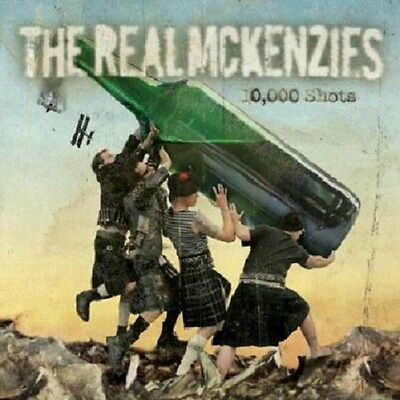 10000 Shots - Real Mckenzies (2005, Vinyl New)